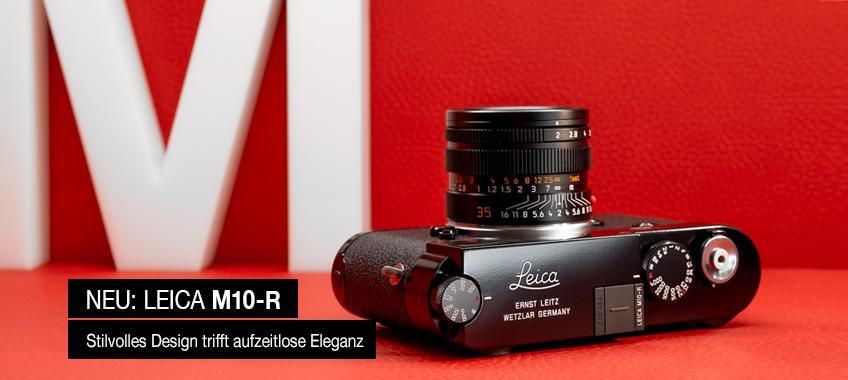 Leica M10 R schwarz lackiert