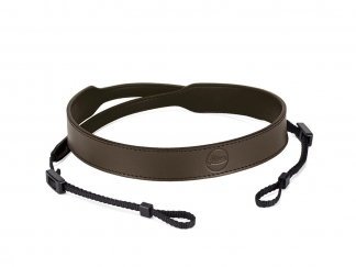 LEICA C-LUX leather carrying strap, taupe