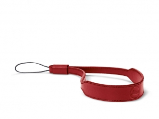 LEICA C-LUX wrist strap, leather red
