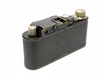 LEICA II (Model D) black paint