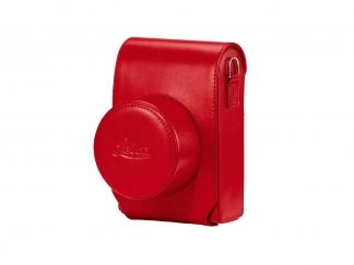 LEICA Ledertasche rot, für D-LUX 7