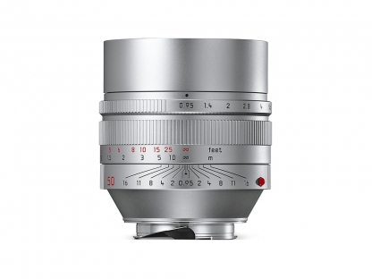 LEICA Noctilux-M 0,95/50mm ASPH. silbern eloxiert