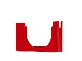 LEICA Protektor Leder rot, für D-LUX 7