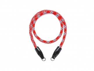 LEICA Rope Strap by Cooph, red check, 100cm