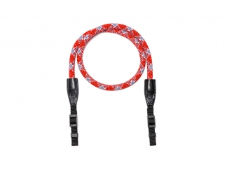 LEICA Rope Strap by Cooph, red check, 126cm, SO