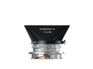 LEICA Summaron-M 5,6/28mm silbern verchromt