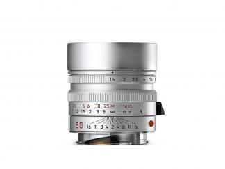 LEICA Summilux-M 1,4/50mm ASPH. silbern verchromt