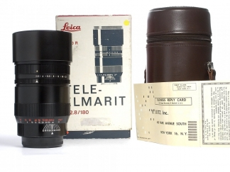 LEITZ Tele-Elmarit-V 2,8/180mm, einmaliges Set!