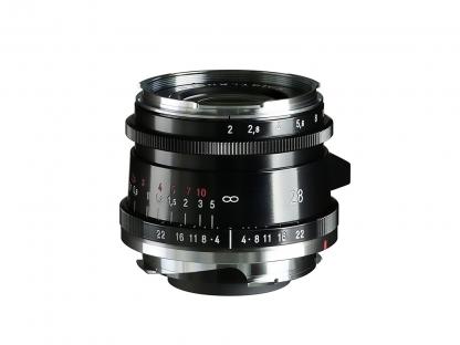 Voigtländer 2,0/28mm Ultron Typ II VM ASPH. schwarz
