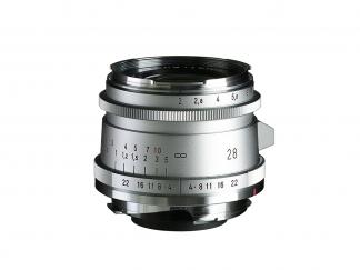 Voigtländer 2,0/28mm Ultron Typ II VM ASPH. silber