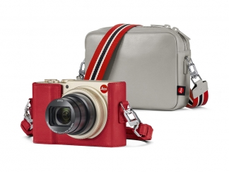 """LEICA C-LUX light gold MEISTER CAMERA """"Style Kit"""""""